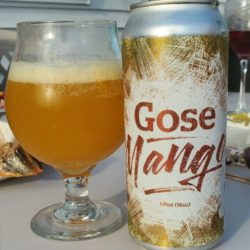 Hoboken Brewing Mango Gose