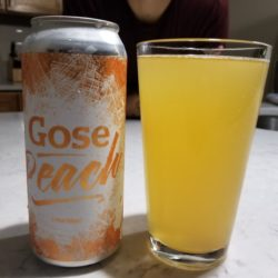 Hoboken Brewing Peach Gose