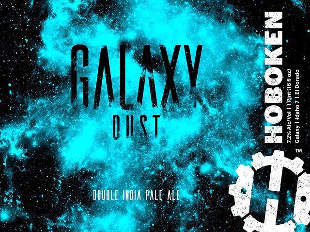 Galaxy Dust Double IPA label
