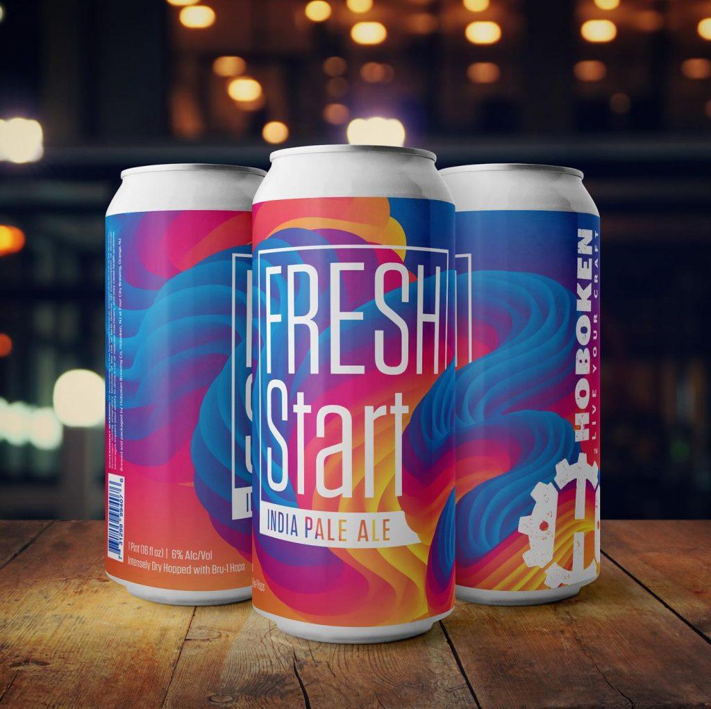 Hoboken Brewing Fresh Start IPA