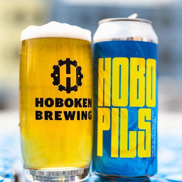 Hoboken Brewing Hobo Pils