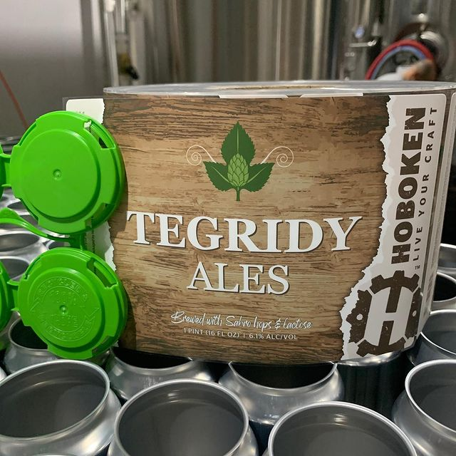 Hoboken Brewing Tegrity IPA